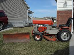 mf garden tractor value for