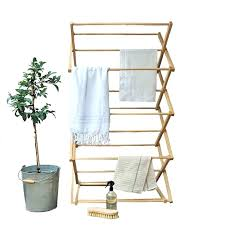 wooden laundry drying rack wooden clothes dryer rack plans