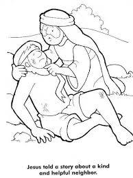 Small Picture Good Samaritan Story from Jesus Coloring Page Good Samaritan
