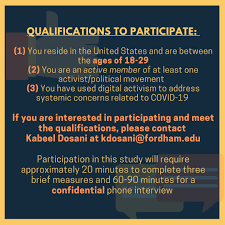 """kabeel dosani on Twitter: """"Are you involved with an activist movement that  uses digital tools/social media to address racial and systemic inequities  amid the pandemic? Help me with my dissertation and in"""