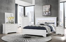 Pompei White King SET King Size B,2NS,DR,MR pompei Global Furniture ...