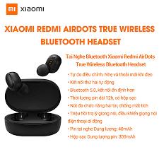 Tai nghe True Wireless Xiaomi Redmi Airbuds Basic - Hàng chính hãng - Bảo  hành 12 tháng - Giá Sốc 24h