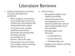Examples Of Lit Review Outline Template Literature Skincense Co