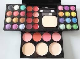 s images new 2016 kryolan make up kit 4 in 1 eyebrow kit lipstick blush powder cosmetic kits
