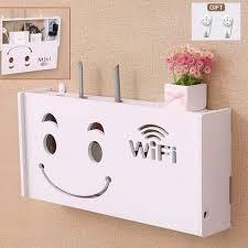 wireless wifi router storage box pvc