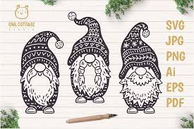 These svg images were created by modifying the images of pixabay. Free Svgs Download Scandinavian Gnomes Svg Gnome Clipart Tomte Free Design Resources