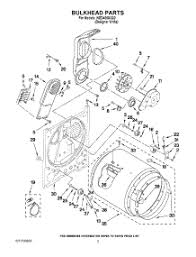 whirlpool dryer schematic wiring diagram wed4850xq0 whirlpool parts for whirlpool wed4800xq0 dryer appliancepartspros com