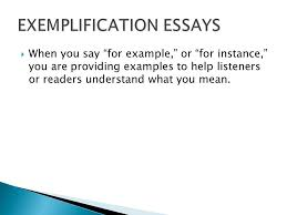 good examples of exemplification essays dogs cuteness daily  the exemplification essay ppt video online · example