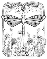 Small Picture free dragonfly insect coloring pages printable for kids