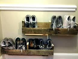 medium size of wall hung shoe storage diy closet ideas mounted rack kids room marvelous