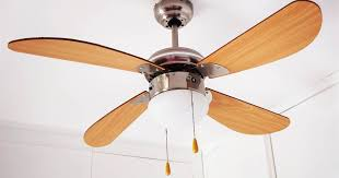 how to clean a ceiling fan and when to