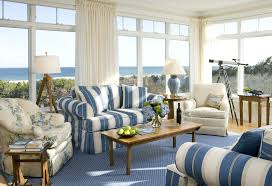 living room beautiful country pattern sofa with blue striped arms cover tile fabric affordable furniture