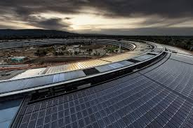 apple drone. progress at the apple park site may be one of last videos massive headquarters because is reportedly cracking down on drone pilots in i