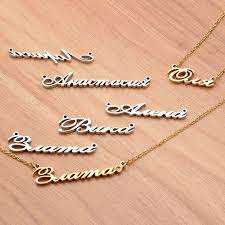 create your own nameplate necklace wallpaper