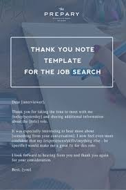 best images about ace your next job interview how to write a thank you note after a job interview the prepary