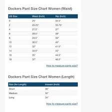 Polo Size Chart Women S 48 Unmistakable Dockers Size Chart