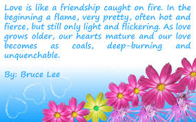 Beautiful Quotes About Love And Friendship Best Of Beautiful Quotes For Love Love Is Like A Friendship Caught On Fire