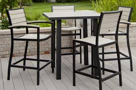 white outdoor furniture. Large Size Of Patio Chairs:patio Furniture Bar Height Dining Set White Outdoor