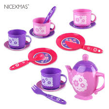 15Pcs Tea Set <b>Playset</b> Pretend Play Toy Set <b>Mini</b> Tea Things ...