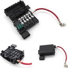 vw battery fuse box ebay battery fuse box cable for 99 04 vw jetta golf mk4 black plastic fuse box battery terminal 1j0937550a