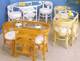 rattan dining conservatory furniture
