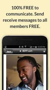 BDFF          Free Black Dating Screenshot