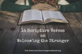 Bible Quotes About Hope Mesmerizing 48 Bible Verses On Welcoming The Stranger