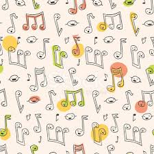 Pattern Song Interesting Doodle Song Pattern Stock Vector FreeImages
