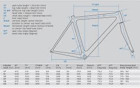 Litespeed Size Chart Need Help Understanding Strange Sizing For Storck Scentron