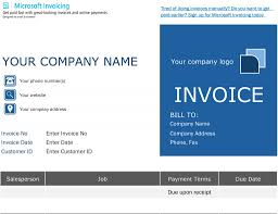 Free Excel Invoice Microsoft Excel Invoice Template Free Collection Simple As