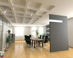 modern office decor. Office Room Decor Amazing Modern Meeting With Grey Wall Divider Also Unique .