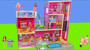 Kids dollhouse furniture Barn Kids Barbie Dolls Dollhouse Furniture W Bedroom Kitchen Bathroom Dreamhouse Doll Toys For Kids Kmart Barbie Dolls Dollhouse Furniture W Bedroom Kitchen Bathroom