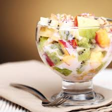 creamy fruit salad recipe. Plain Recipe To Creamy Fruit Salad Recipe L