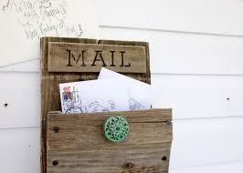 rustic wall mounted mail organizer design prosserbrosvtg