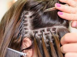 shortcuts to glue in hair extensions