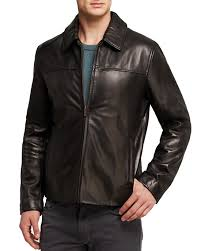 smooth men classic leather jackets1