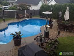 vue arrière piscine creuser 31 pied