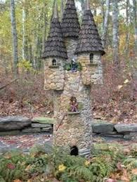 fairy garden castle. Diy Miniature Stone Houses For Beutiful Gardens Fairy Garden Castle 3