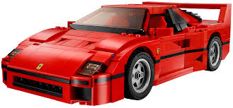 Lego Ferrari F40 Comes With Removable V 8 Engine Top Speed