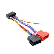 wiring harness for a sony car stereo wiring diagram show 16 pin iso wiring harness connector adaptor loom for sony car stereo wiring diagram for sony