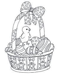 Kleurplaten Pasen Kuiken Brekelmansadviesgroep