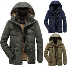 Amazon Com Ennglun Mens Winter Coats Mens Winter Velvet
