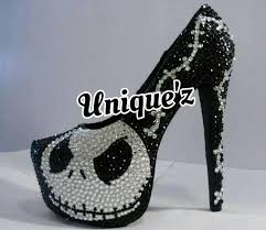 custom made nightmare before heels jack skellington pumps