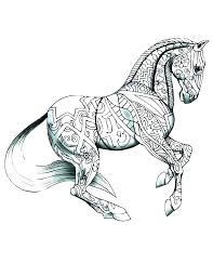 Coloring Pages Of Horses Running Detailed Horse Coloring Pages Horse