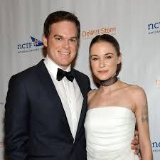 Michael C. Hall weds girlfriend Morgan Macgregor in city hall ...