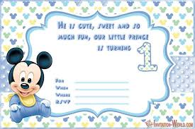 first birthday invitations for boys and