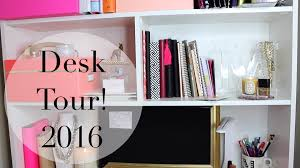 pink home office design idea. Home Office Organization + DIY Accessories - YouTube Pink Design Idea