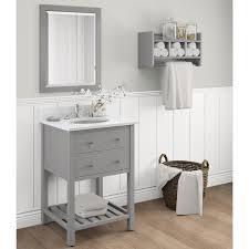 44 inch bathroom vanity. Excellent 44 Inch Bathroom Vanity Cabinet Alaterre Harrison Grey Wood 24 Bath Set With Marble Sink
