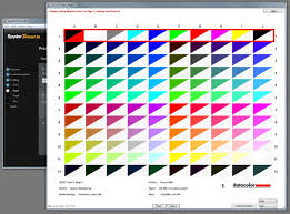 Print Color Test Page Epson Warm A4 Printer Sheet Alexander Taylor