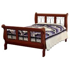 wood and wrought iron furniture. Classic Wrought Iron Sleigh Bed Wood And Wrought Iron Furniture